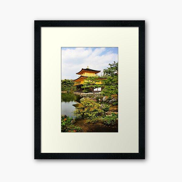 Kinkakuji (Golden Pavillion) Japan Framed Art Print