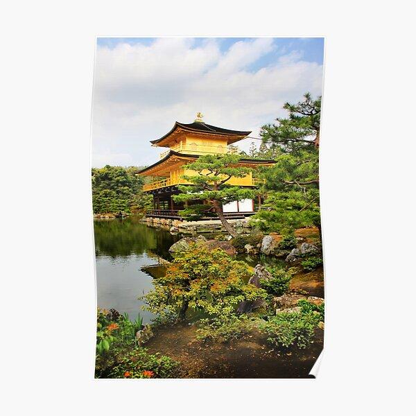 Kinkakuji (Golden Pavillion) Japan Poster