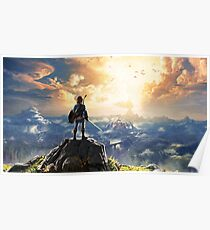 The Legend of Zelda: Breath of the Wild Link Poster