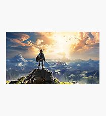 The Legend of Zelda: Breath of the Wild Link Photographic Print