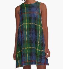 MacLeod of Gesto Clan/Family Tartan  A-Line Dress