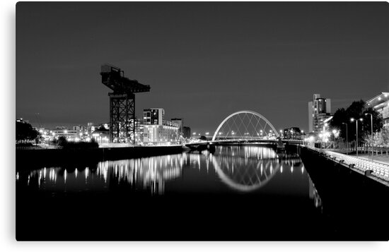River clyde glasgow scotland by gregs celeb art