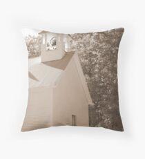 1700's Church Cades Cove Throw Pillow