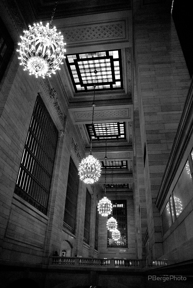 Grand Central Terminal Chandeliers by PBergePhoto