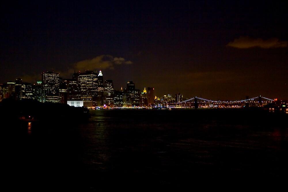 New York at Night by Ian Johnston