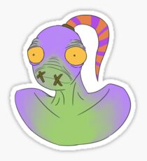 abe sticker Sticker