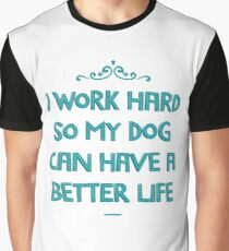 For the love of dogs. Graphic T-Shirt