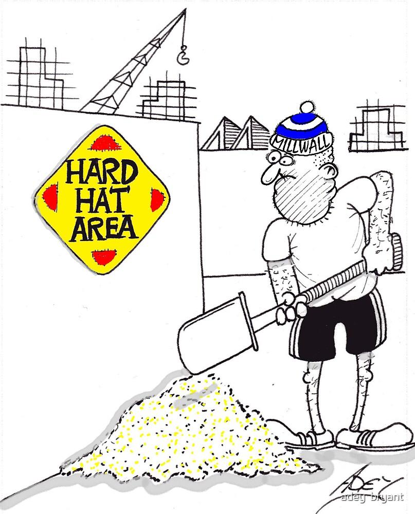 hard hat by adey  bryant