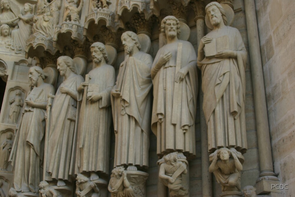 Notre Dame figures by PCDC