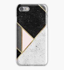 Textured Geometry 1 iPhone Case/Skin