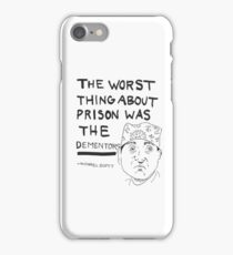Worst thing was the dementors iPhone Case/Skin