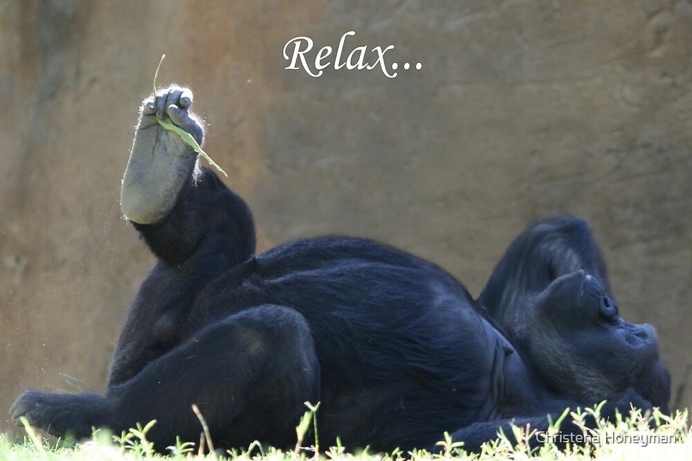 Relax by Christena Honeyman