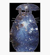 Space Totoro Photographic Print