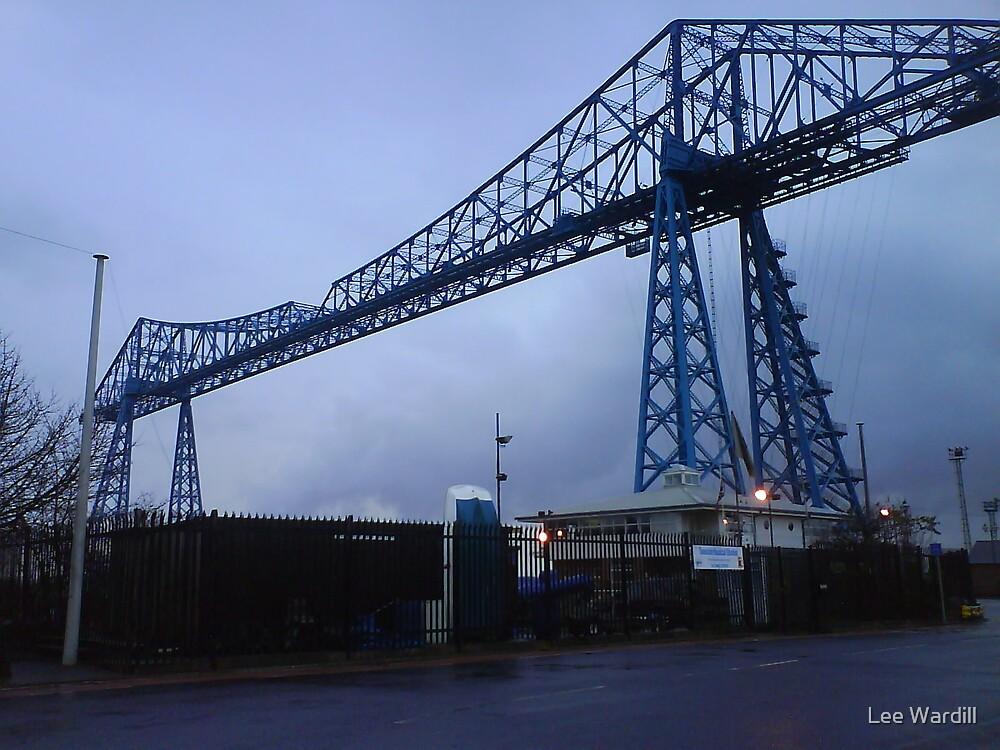 Below The Transport Bridge by Lee Wardill