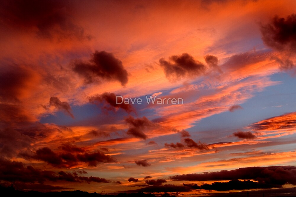Evening sky1 by Dave Warren