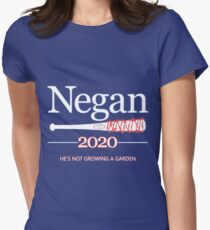 Negan 2020 (The Walking Dead) Womens Fitted T-Shirt