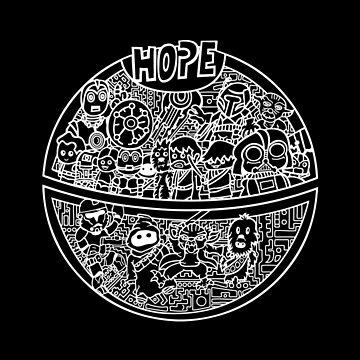 Hope for a Death Star Wars by techwiz