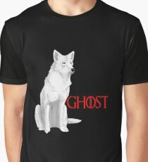 Ghost Game of Thrones Graphic T-Shirt