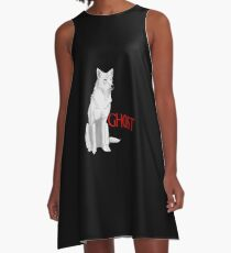Ghost Game of Thrones A-Line Dress