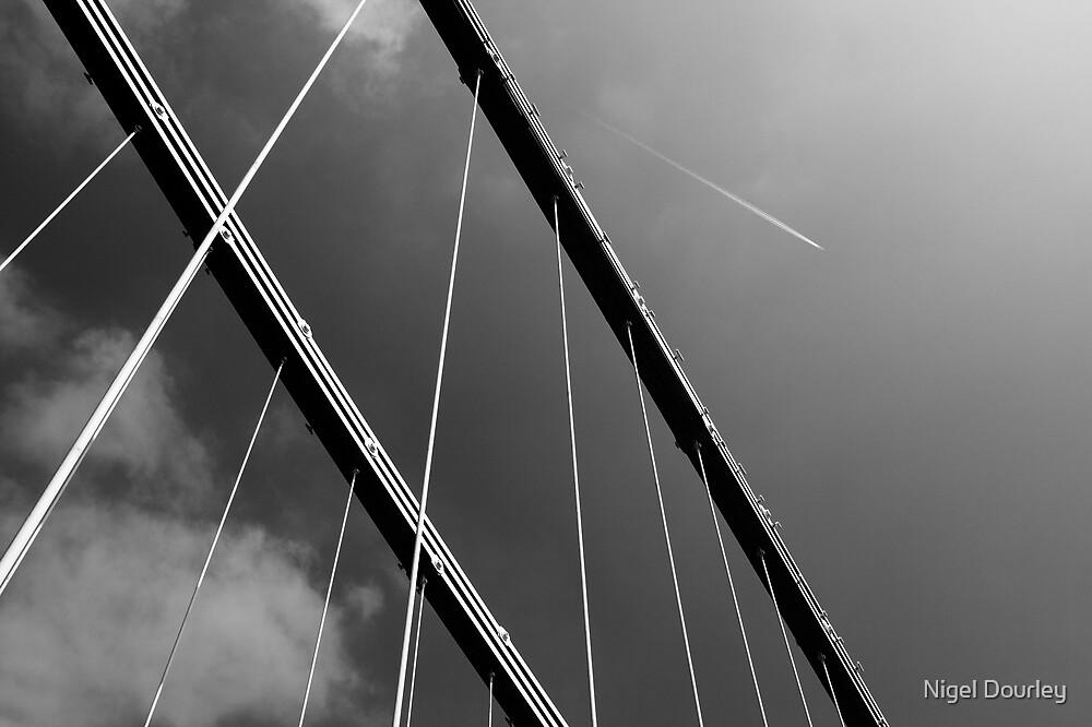 Suspension Bridge Flyover by Nigel Dourley
