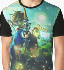 The Legend of Zelda: Breath of the Wild Link Graphic T-Shirt