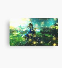 The Legend of Zelda: Breath of the Wild Link Canvas Print