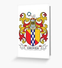 Grover Coat of Arms Greeting Card