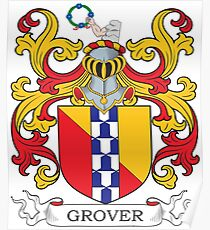 Grover Coat of Arms Poster