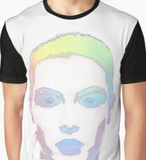 Simply Irresistible Abstract Woman Graphic T-Shirt