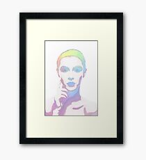 Simply Irresistible Abstract Woman Framed Print