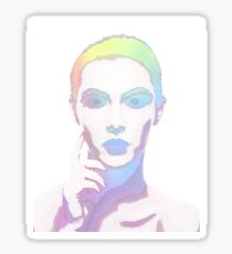 Simply Irresistible Abstract Woman Sticker