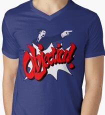 Objection Men's V-Neck T-Shirt
