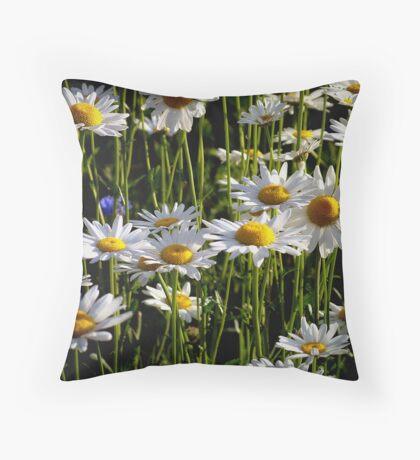 Daisy Forest Throw Pillow
