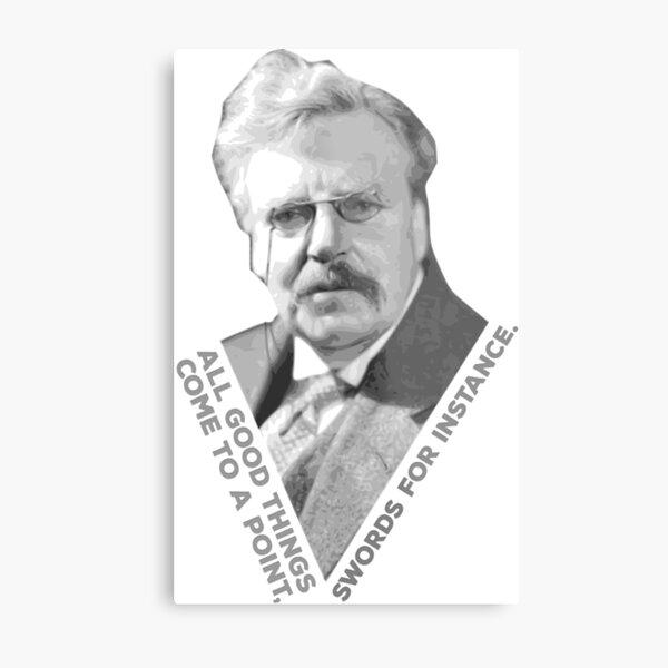 Chesterton's Point Metal Print