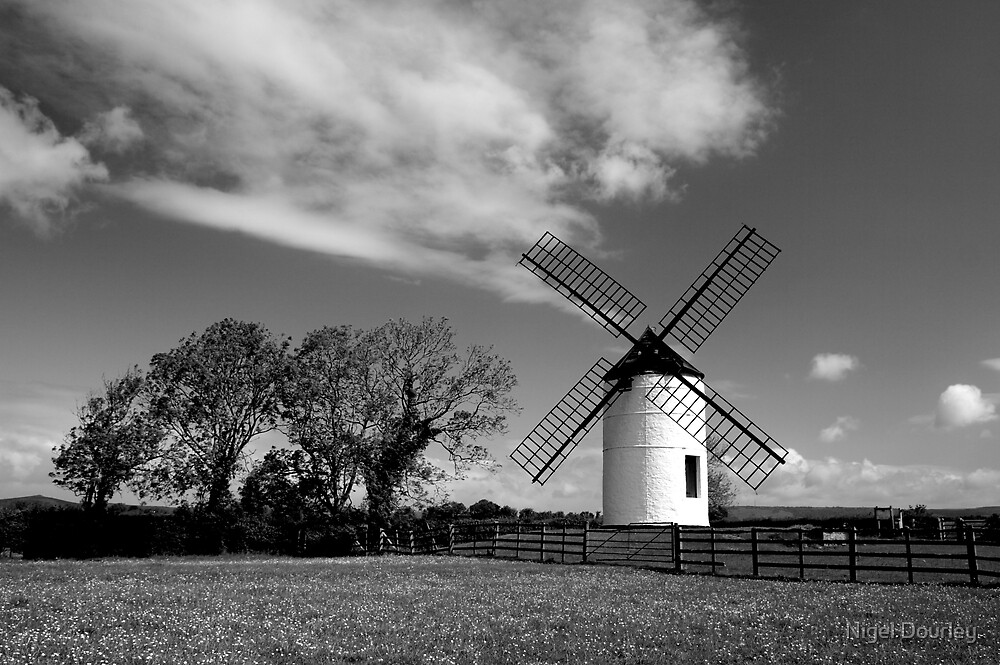 Ashton Windmill 9 by Nigel Dourley