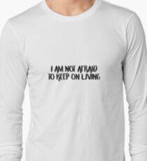 MCR Not Afraid  Long Sleeve T-Shirt