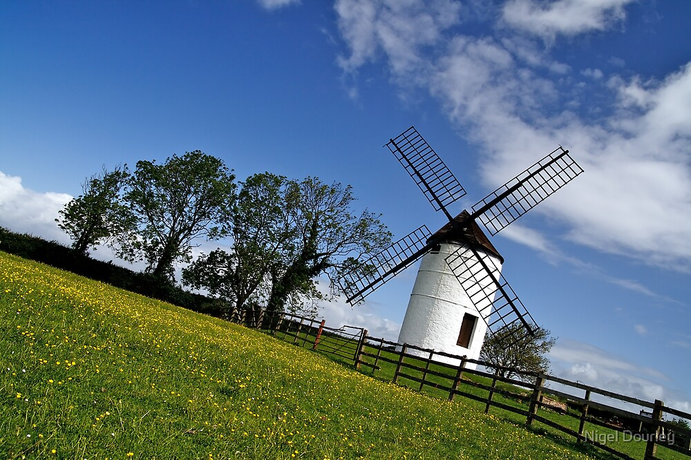 Ashton Windmill 6 by Nigel Dourley