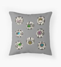 corrupted core Throw Pillow