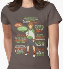 Pidge Quotes Womens Fitted T-Shirt
