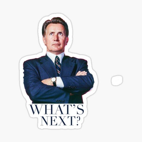 West Wing - What's Next? Sticker