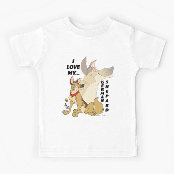 I Love My...German Shepard Kids T-Shirt