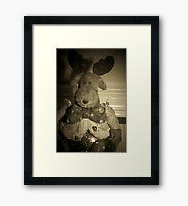 Rudolph? Framed Print