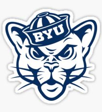 BYU Cougar Sticker