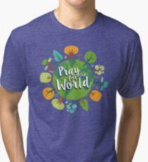 Pray-for-the-World Tri-blend T-Shirt