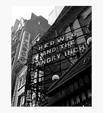 Hedwig on Broadway Photographic Print