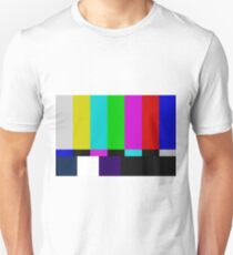 TV bars color test Unisex T-Shirt