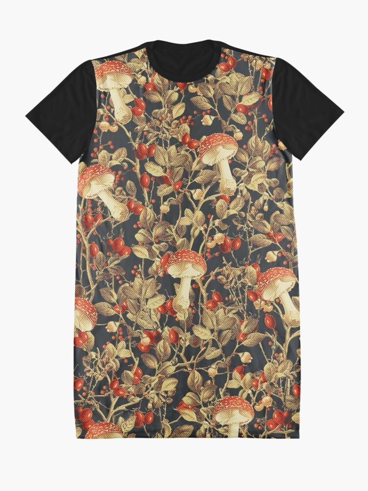 Alternate view of Vintage Garden 14 Graphic T-Shirt Dress