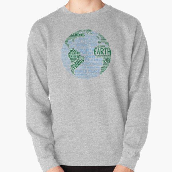 Schütze die Erde - Blaugrüne Worte für die Erde Pullover
