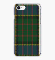 MacMillan Hunting Clan/Family Tartan  iPhone Case/Skin