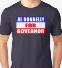 Al Donnelly For Governor - Chris Farley - Black Sheep Unisex T-Shirt